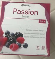 Yoli Passion Berry - Box of 35 Packets - Never Opened / Brand New - Exp: 11/19