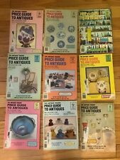 Antique Trader Price Guide to Antiques Magazine 1988 1989 Lot of 9