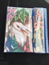 Vintage Mead Bunnies Trapper Keeper Notebook 29096 Retro 80's Rabbits Q550B