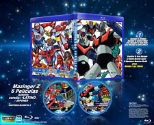 MAZINGER THE MOVIE Blu-ray Espanol, latino y japones