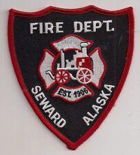 Patch Seward Fire Department Alaska USA Feuerwehr