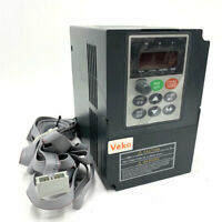 VFD inverter frequency converter 2.2kw 3HP 300hz general 1phase AC220V input 3ph