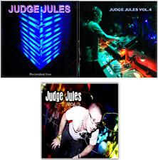 DJ JUDGE JULES CD'S (OLD SKOOL / RECORDED LIVE) - VOL 1, 4 & 5 - 3 CD PACK