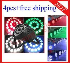 4pcs 24*10W RGBW 4 in 1 Led Par Light Led DJ Stage Par64 Lighting Free Shipping