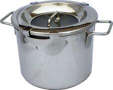 ✔ 5 - 6 Qt Straining Stockpot 8 in 1, Polished Steel, Induction, Dishwasher Safe