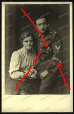 Foto-AK-Studio-Portrait-Infanterieregiment 227-Feldherrnhalle-ISA-Orden-