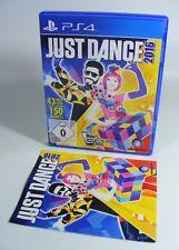 JUST DANCE 2016 für PlayStation 4 mit OVP und Anleitung Sony PS4 Spiel 16