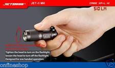 New Portable JETbeam JET-II MK Cree XP-L HI 510 Lumens Waterproof LED Flashlight