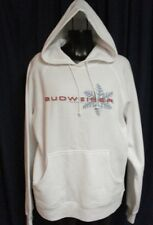 Budweiser Women Hoodie Hooded Sweat Shirt Sweatshirt M JFCC1 BUD WEIS ER Medium