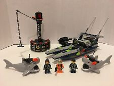 LEGO 8633 340 PIECES AGENTS MISSION 4 SPEEDBOAT RESCUE 100% complete!!!