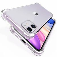 Case For iPhone 12 Pro 11 Pro Max XR X 8 7 ShockProof TPU Silicone Phone Cover