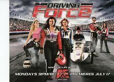 FORCE RACING 2006 Top Fuel Dragster NHRA Drag Racing Handout Postcard