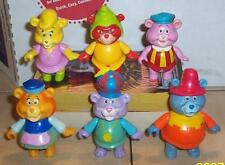 1985 Disney GUMMI Bears Complete Poseable Figure Set Vintage Fisher Price