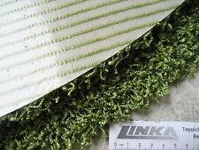 6519 runder Teppich 70 cm shaggy rund Hochflor Langflor grün Silicon Rückseite