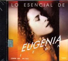 Lo Esencial de EUGENIA LEON CD con sus Grandes y Mejores EXITOS New  Escencial