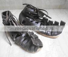 Roman Sandals Leather Gladiator Caligae Shoes Larp  Role Play Legionnaire Sandal