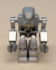 x1 Lego EXO-FORCE Minifig Guy Space Alien Droid Men METALLIC SILVER