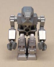 x1 Lego EXO-FORCE Minifig Guy Space Alien Droid Men METALLIC SILVER