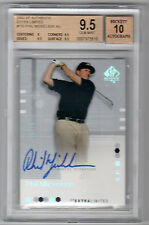 2002 SP AUTHENTIC EXTRA LIMITED GOLD PHIL MICKELSON AUTO RC  BGS 9.5 W/10 #/25
