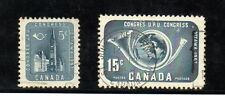 Canada Congreso U.P.U. serie del año 1957 (BA-176)