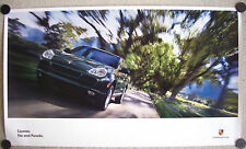 PORSCHE DEALER CAYENNE S OFFICIAL SHOWROOM POSTER 2003