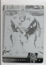 2010-11 Upper Deck French Printing Plates Black #175 Ryan Miller