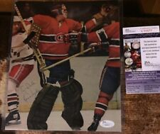 Ken DRYDEN Signed JSA Authenticated 1970s Autographed 8x10 Magazine Photo HABS