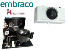 Embraco-condensing-unit with NEK6217GK M/H TEMP + Evap Blower HEA2501 1000m³/hr