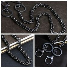 Safety Holder Long Ring Clip Fashion Metal Split Trouser Belt Chain Key Wallet