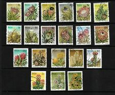 South Africa, 1977 succulents, complete set used with coil stamps (SA108)