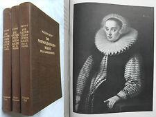 W. Bernt: DIE NIEDERLÄNDISCHEN MALER d.17.Jht. 3 Bde - 1042 Abb.+516 Signaturen