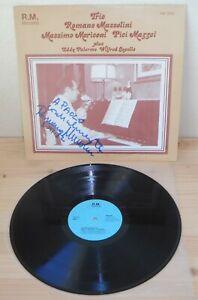 LP ROMANO MUSSOLINI TRIO s/t (R.M. 83) private press Italian jazz signed RARE NM