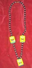 Rare Collectible SpongeBob Square Pants Mardi Gras Bead Necklace
