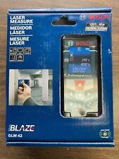 Bosch Glm 42 Blaze 135 Ft Laser Measure With Color Display New Nib