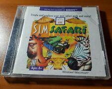Sim Safari -- CD-Rom for Windows  Create a Safari Park