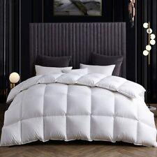 Snowman All Season Goose Down Comforter 100% Egyptian Cotton 1200Tc 750+Fp White