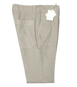Brunello Cucinelli Men's Pants Size 32 / 48 Tan Cotton Khakis Chinos