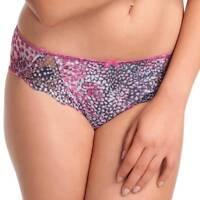 New Fantasie Nicola Womens Sexy Lace Briefs Pink Fuchsia Smooth Mesh Fabric BNWT