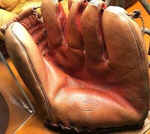 Vintage Mickey Mantle JC Higgins Pro Maker 1673 Model Glove Yankees HOF