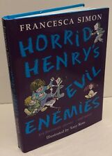 Horrid Henry's Evil Enemies Hardback Orion vgc