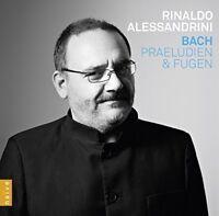 Rinaldo Alessandrini [harpsichord] - J.S. Bach: Preludes and Fugues [CD]