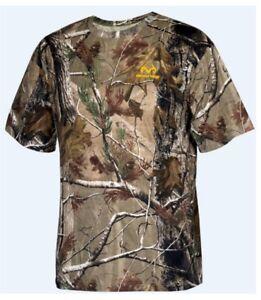 Realtree AP Men's Camo Short Sleeve Crew T-Shirts: L-3XL