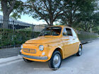 1969 Fiat 500 Lombardi Special Edition! SEE VIDEO 1969 Fiat 500 Lombardi special edition similar to 600 abarth jolly