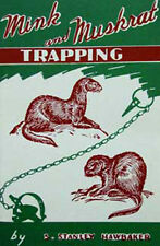 Mink and Muskrat Trapping by Stanley Hawbaker (Book)