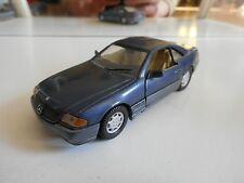 Detail Cars Mercedes 320 SL Coupe in Blue on 1:43