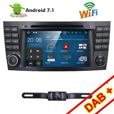 Android 7.1 Car DVD Player For Benz W211 2002 2003 2004 2005-2009 GPS Navigation