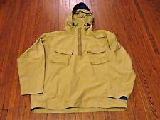 Men's VTG 80's 90's Tommy Hilfiger Tan Beige Windbreaker Pullover Jacket sz L