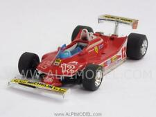 Brumm Bm0512 Ferrari 312 T4 G.villeneuve 1979 N.12 2nd France GP 1 43