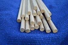 20 un. Roble espiga de madera Varilla 9 Mm X 300 Mm, dowelling,6 Metros £ 3.00 por Metro