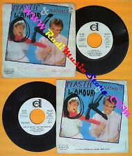 LP 45 7''PLASTIC BERTRAND & NATHALIE L'amour ok Stop ou encore 1982 no cd mc dvd